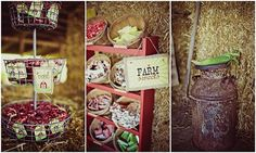 Farm Birthday Party Idea. See more at www.karaspartyideas.com