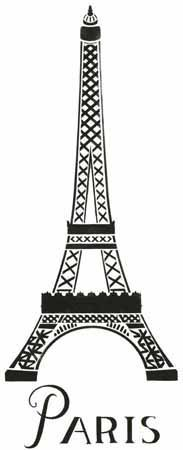 You can draw the Eiffel tower easily