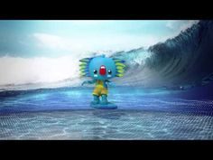 See what's special about Borobi in this animated video. Commonwealth Games 2018, Gold Coast, Animated Gif, Olympics, Projects To Try, Animation, Cool Stuff, Brisbane, Preschool