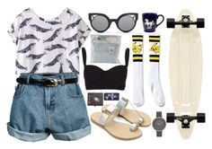 """""""Untitled #89"""" by belabelistic ❤ liked on Polyvore featuring Retrò, Alexander McQueen, Kate Spade, Fendi and Skagen"""