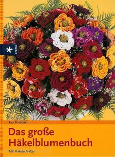 Libro fiori a crochet