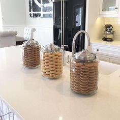 Khloe Kardashian Cookie Jar Extraordinary Khloe Kardashian's Organized Cookie Jars Totally Inspired Me To Do Design Decoration