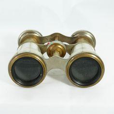 Binocolo antico inglese - Antique binoculars