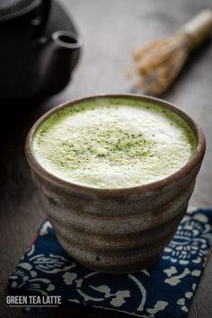awesome Cách Làm Latte trà xanh đồ uống Giáng sinh thơm ngon