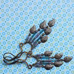 Moois van ' M(i)e': diy herfstbellen met blaadjes/earrings with fall leaves + tip !