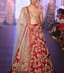 This Beautifully Lehenga design by Shree Impex will make you the star of this parties and Festivals. The Designer Lehenga Is perfect for Festivals, Wedding or any Cermonies. Its made from original clothing as per description. Bridal Lehenga, Lehenga Choli, Sabyasachi, Indian Dresses, Indian Outfits, Indian Clothes, Ethnic Trends, New Frock, Indian Bridal Wear