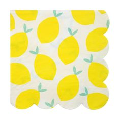 Lemon Napkins - Large