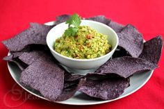 Perfect for Football Snack: Guacamole Salsa with Sutter Home Sauvignon Blanc