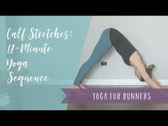 Yoga for runners and athletes tips from a yoga teacher & running coach, plus healthy living tips & recipes. Calve Stretches, Best Calf Stretches, Remedies For Plantar Fasciitis, Yoga For Dummies, Hip Opening Yoga, Runners Guide, Yoga For Runners, Yoga Strap, Cool Yoga Poses