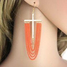 http://gemdivine.com/bohemia-sexy-orange-and-yellow-tassel-cross-dangle-earrings-for-women-and-girls-punk-gold-plated-cruz-pendientes/