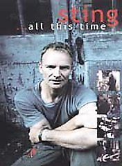 Sting All This Time Pop Music Documentary Film Behind th Scenes Concert DVD 2001