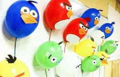 Globos Angry Birds