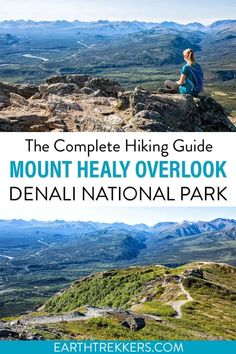 How to hike the Mount Healy Overlook Trail in Denali National Park & Preserve. Includes map, photos, and travel tips.