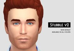 Give your Sims that rugged, manly look without a big beard!