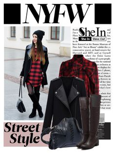 """""""NYFW (SheIn)"""" by shambala-379 ❤ liked on Polyvore featuring Chicwish, NYFW, Sheinside and shein"""