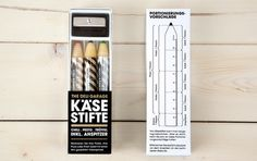 Flavour pencils. #Design #Packaging #GoodIdeas. See it en Structural Packaging Blog