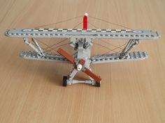 Hawker Fury #flickr #LEGO #biplane