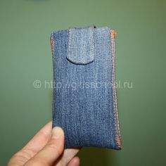 Как сделать чехол для телефона своими руками из старых джинс