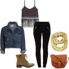 Sin título #58 by imkatherineb on Polyvore featuring moda, H&M, rag & bone/JEAN, VILA and Yellow Box