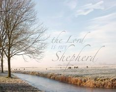 Psalm 23:1 The Lord is my shepherd; I shall not want.