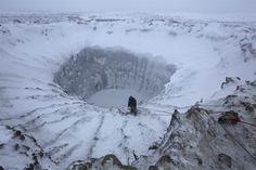 strange holes in siberia......