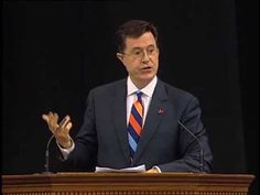 Stephen Colbert Salutes U.Va.'s Class of 2013 - http://whatthegovernmentcantdoforyou.com/2013/12/09/political-humor/stephen-colbert/stephen-colbert-salutes-u-va-s-class-of-2013-8/