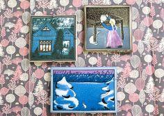 アラビア/ARABIA Helja Liukko Sundstrom 小さな女の子とうさぎ/Small Girl and a Rabbit 陶板画 12cm/1982年  手中に広がるアーティスティックな世界観