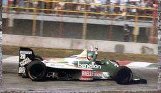 Berger 1986 México F1