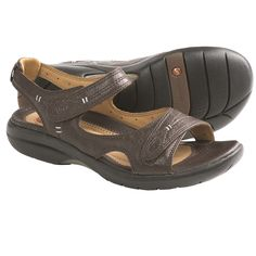 535d43eac13e1 Clarks Un.Hatch Sandals - Leather (For Women) in Dark Brown Leather Dark