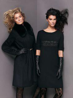max mara studio10 Toni Garrn & Querelle Jansen Exude Pure Elegance for Max Mara Studios Fall 2012 Campaign
