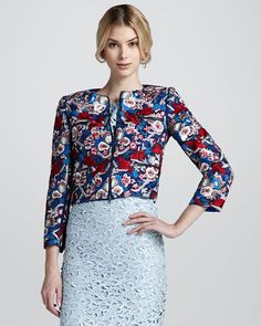 Embroidered Jacket for Woman - http://heeyfashion.com/2016/07/embroidered-jacket-for-woman/