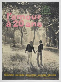 Love at Twenty - 1962 French-produced omnibus project of Pierre Roustang, consisting of five segments directed by five directors from five different countries (including Truffaut)