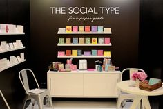 National Stationery Show 2012: The Social Type   Photo Credit: Oh So Beautiful Paper