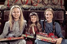 Melissa Sue Anderson, Sidney Greenbush and Melissa Gilbert in Little House on the Prairie