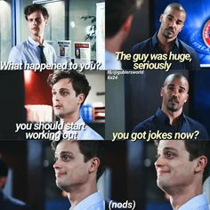 Dr. Spencer Reid | Derek Morgan | Criminal Minds