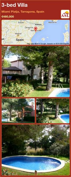 3-bed Villa in Miami Platja, Tarragona, Spain ►€480,000 #PropertyForSaleInSpain