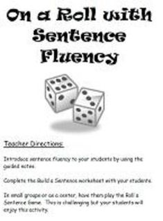 Printables Sentence Fluency Worksheets sorting sentences and then on pinterest 6 traits writing sentence fluency notes guided instruction sentency lesson with