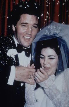 Oh what a day........the wedding of Elvis-Priscilla