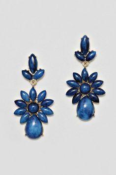 Sapphire Delphine Earrings.