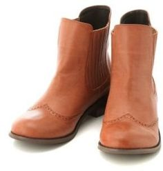 Slip on boots / ShopStyle: サイドゴアショートブーツ