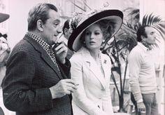 Luchino Visconti et  Silvana Mangano