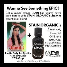 aae1dc2160bcf 33 Best Our Body-Art Products: STAIN ORGANIC & All-Natural Henna ...