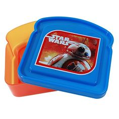 Star Wars Episode 7 Lunch Storage Fresh Sandwich Container *** See this great product.