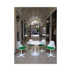 http://www.design-mkt.com/5616-set-of-dining-table-and-chairs-maurice-burke-1960s.html