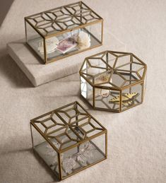 Handcrafted Leaded Glass Boxes | VivaTerra