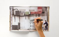 "Walls Notebook is a notebook / sketchbook that features 80 pictures of ""clean"" NYC walls instead of blank pages. Write, draw, paste, or doodle on these inspirational backdrops"