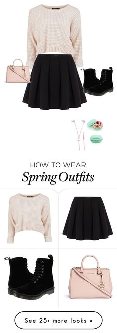 """""""Autumn/Spring style outfit no. 1"""" by charlotte-harber on Polyvore featuring мода, Polo Ralph Lauren, Dr. Martens и Michael Kors"""