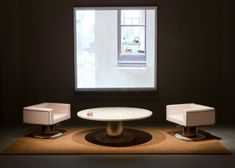 moderne möbel designs niedrige sessel weiß originell