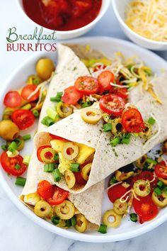 Breakfast Burritos   STAR Olives Giveaway!