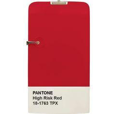 Refrigerador Icebox • CiaVintage • Pantone • Red • Vermelho • Home Decor • Design • Cores • Colors